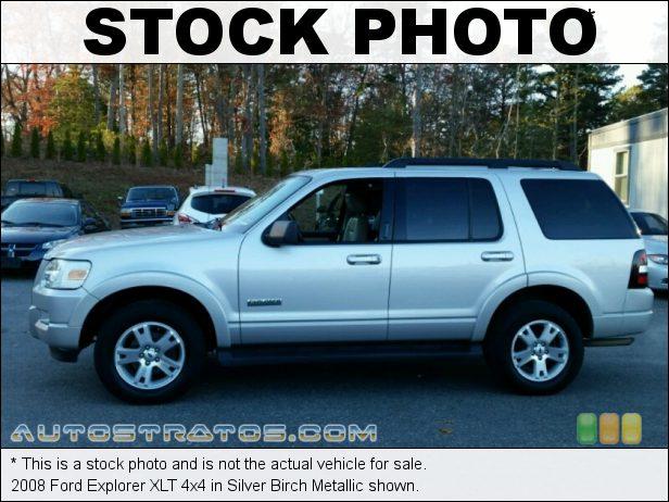 Stock photo for this 2008 Ford Explorer XLT 4x4 4.0 Liter SOHC 12-Valve V6 5 Speed Automatic