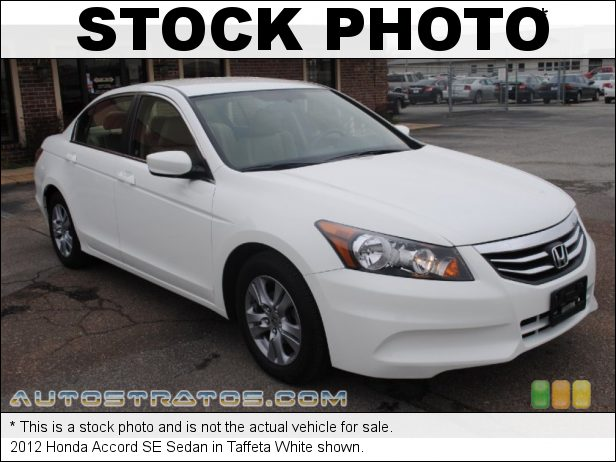 Stock photo for this 2012 Honda Accord SE Sedan 2.4 Liter DOHC 16-Valve i-VTEC 4 Cylinder 5 Speed Automatic