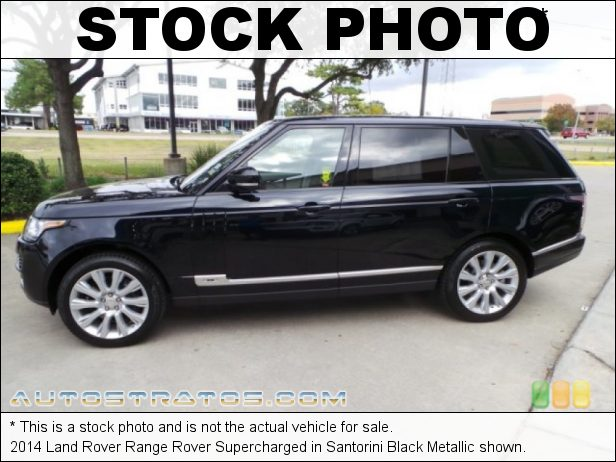 Stock photo for this 2014 Land Rover Range Rover Supercharged 5.0 Liter Supercharged DOHC 32-Valve VVT V8 8 Speed Automatic