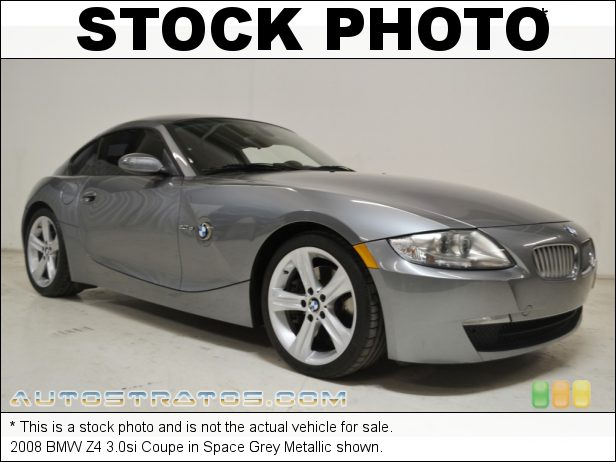 Stock photo for this 2008 BMW Z4 3.0si Coupe 3.0 Liter DOHC 24-Valve VVT Inline 6 Cylinder 6 Speed Steptronic Automatic