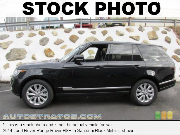Stock photo for this 2014 Land Rover Range Rover HSE 3.0 Liter Supercharged DOHC 24-Valve VVT V6 8 Speed Automatic