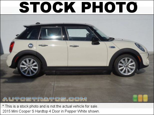 Stock photo for this 2015 Mini Cooper S Hardtop 4 Door 2.0 Liter TwinPower Turbocharged DOHC 16-Valve VVT 4 Cylinder 6 Speed Automatic