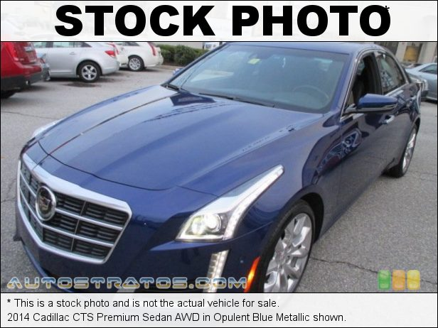 Stock photo for this 2014 Cadillac CTS Premium Sedan AWD 2.0 Liter DI Turbocharged DOHC 16-Valve VVT 4 Cylinder 6 Speed Automatic