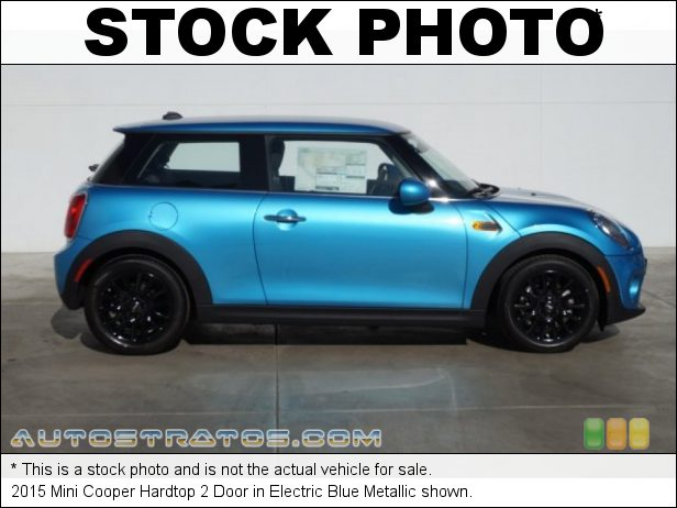 Stock photo for this 2015 Mini Cooper Hardtop 2 Door 1.5 Liter TwinPower Turbocharged DOHC 12-Valve VVT 3 Cylinder 6 Speed Manual